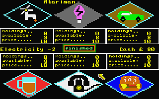 Capital II atari screenshot